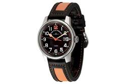 Zeno-Watch Herrenuhr - Classic Pilot Date - 3315Q-matt-a15 von Zeno Watch Basel