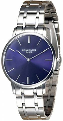 Zeno-Watch Herrenuhr - Flat Flatline 2 Blue - 6600Q-c4M von Zeno Watch Basel