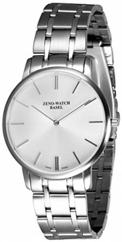 Zeno-Watch Herrenuhr - Flat Flatline 2 Gray - 6600Q-c3M von Zeno Watch Basel