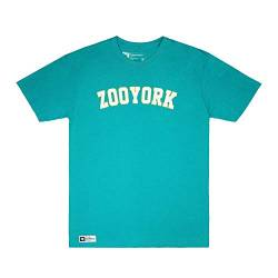 Zoo York Herren Core Arch T-Shirt, Grün (Jade Dome JAD), Small von Zoo York