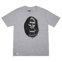 Zoo York Herren Kong T-Shirt, Grau (Grey Heather Hgy), Small von Zoo York