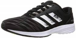 adidas Herren Adizero RC 3 Running Shoe, Core Black/Cloud White/Solar Yellow, 42 EU von adidas
