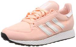 adidas Unisex-Kinder Forest Grove J Fitnessschuhe, Orange (Clear Orange/Ftwr White), 36 EU (3.5 UK) von adidas