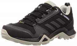 adidas Womens Terrex AX3 GTX Walking Shoe, Core Black/Solid Grey/Purple Tint, 37 1/3 EU von adidas