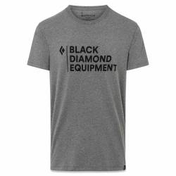 Black Diamond M Stacked Logo Tee