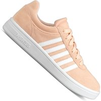 K-Swiss Court Cheswick Suede Damen-Sneaker Pale Peach/White