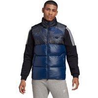 adidas Originals Regen Down Vest Camo Print/Blue von adidas Originals