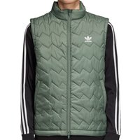 adidas Originals SST Puffy Vest Herren-Weste Trace Green von adidas Originals