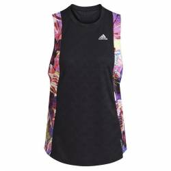 adidas Own the Run Tanktop Damen - schwarz/lila L