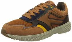 camel active Herren Fly River Sneaker, Multi Brown, 46 EU von camel active