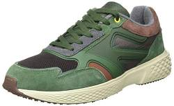 camel active Herren Fly River Sneaker, Multi Green, 46 EU von camel active