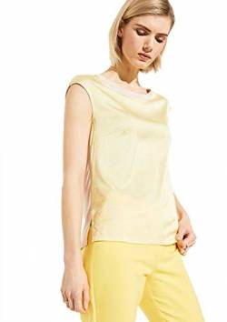 Comma 8E.095.32.2010 T-Shirt, Damen, Beige 34 EU von comma
