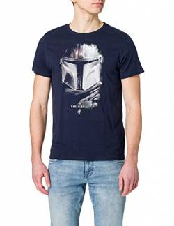 cotton division Herren MESWMANTS014 T-Shirt, Marineblau, L von cotton division