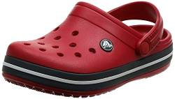 crocs Unisex-Erwachsene Crocband U Clogs, Red (Pepper), 36/37 EU von crocs