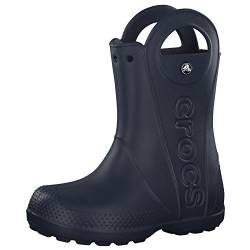 Crocs Unisex-Kinder Handle It Rain Boot Gummistiefel, Blau (Navy), 27/28 EU von crocs