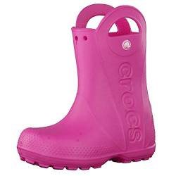 Crocs Handle It Rain Boot, Unisex - Kinder Gummistiefel, Pink (Candy Pink), 27/28 EU von crocs