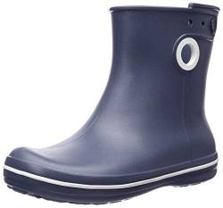 Crocs Jaunt Shorty Boot Women, Damen Gummistiefel, Blau (Navy), 34/35 EU von crocs