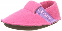 Crocs Unisex-Kinder Classic Slipper Kids Pantoffeln, Pink (Candy Pink),C12 UK(29-30 EU) von crocs