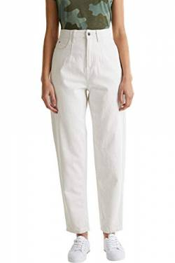 edc by ESPRIT Damen 050CC1B305 Hose, Off White (110), 34/32 von edc by ESPRIT