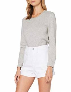 edc by ESPRIT Damen 050CC1C303 Shorts, 100/WHITE, 33 von edc by ESPRIT