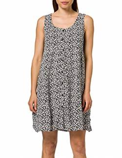 edc by ESPRIT Damen 051CC1E313 Kleid, 003/BLACK 3, 38 von edc by ESPRIT