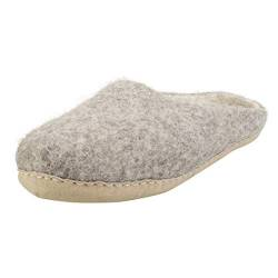 egos Simple Slip-on, 38.0/38 EU, Natural Grey von egos