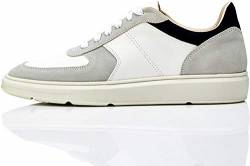 find. Fletcher Sneaker, Weiß (White/Navy), 39/40 EU von find.