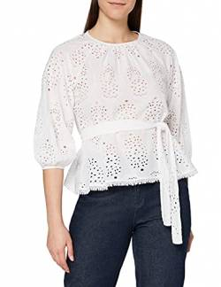 find. MTP 40988 W Bluse, Weiß (Bright White), 16 (Size:XL) von find.