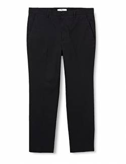 find. Tapered Slim Chino Hose Schwarz (Black) W31/L34 von find.