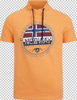 T-Shirt ESKIL Jan Vanderstorm orange von jan vanderstorm