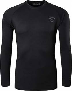 jeansian Herren UPF 50+ UV Sun Protection Outdoor Sport T-Shirt LA245 Black M von jeansian