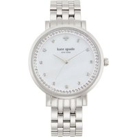 Kate Spade New York Monterey Damenuhr in Silber 1YRU0820 von kate spade new york
