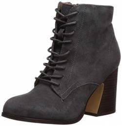 kensie Damen Smith modischer Stiefel, anthrazit, 40 EU von kensie