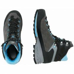 Mammut Kento Tour High GTX w Damen (Anthrazit 6,5 UK)  Typ BC (Stabile Trekkingstiefel) Hochtourenschuhe von mammut