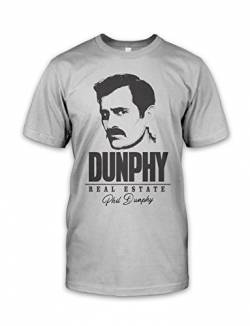 net-shirts Phil Dunphy All Over T-Shirt Phil Dunphy T-Shirt Inspired by Modern Family, Größe L, Graumeliert von net-shirts