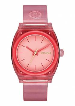 Nixon Women's Medium Time Teller P Coral One Size von Nixon