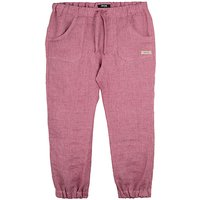 pure pure by BAUER Baby Stoffhose für Mädchen pink Mädchen Gr. 116 von pure pure by BAUER