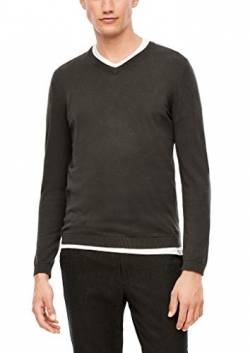 s.Oliver BLACK LABEL Herren 160.11.899.17.170.2040937 Pullover, 85W0, 3XL von s.Oliver BLACK LABEL