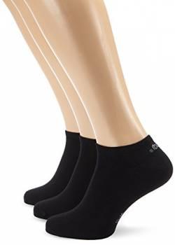 s.Oliver Unisex - Erwachsene Sneakersocke 3 er Pack, S24001, Gr. 43 390b1ed7cb