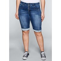 sheego Bermudas Jeanshosen blue denim Damen Gr. 52 von sheego