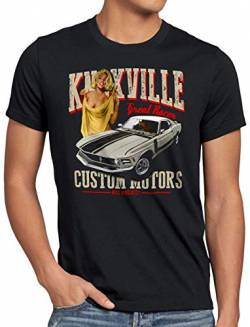 style3 Knoxville Mustang Herren T-Shirt Muscle car Eleanor, Größe:M von style3