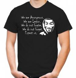 Anonymous T-Shirt | Guy Fawkes | Occupy | Vendetta | Revolution | Anti | M1 (XXL) von uglyshirt87