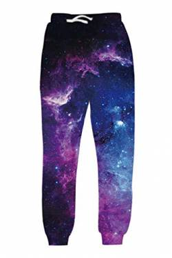 uideazone Galaxis Leggings Fitness Sport Gym Laufen Yoga Athletic Pants Strumpfhose Active Running Hosen Casual Workout Pants von uideazone
