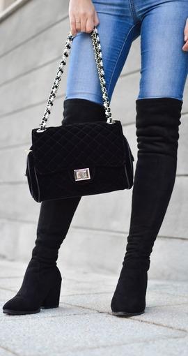 130f17e0e52 Overknee-Stiefel – Der Traum jeder Frau