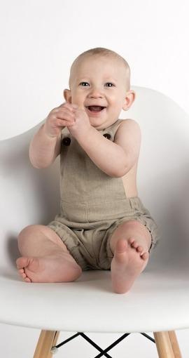 mit Hut und Hut Unisex f/ür Neugeborene Carolilly Strampelanzug f/ür Neugeborene