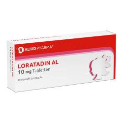Loratadin AL 10 mg Tabletten von Aliud Pharma