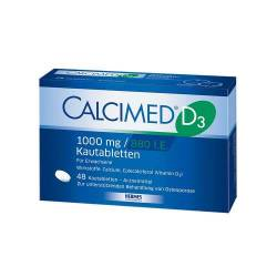 Calcimed D3 1000 mg / 880 I.E. Kautabletten von Calcimed