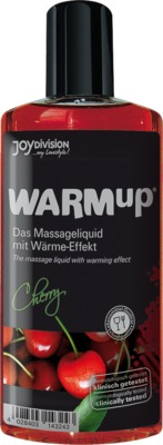 WARMUP Kirsch Massageöl von Dr. Dagmar Lohmann Pharma + Medical GmbH