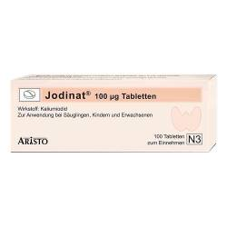 Jodinat 100 µg Tabletten von Jodinat