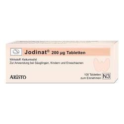 Jodinat 200 µg Tabletten von Jodinat